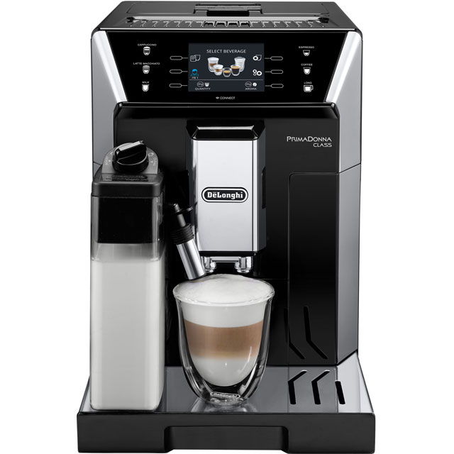 De'Longhi PrimaDonna Class ECAM550.55.SB Bean to Cup Coffee Machine - Black Best Price, Cheapest Prices