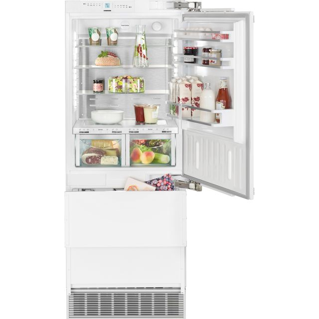 Image of Liebherr ECBN5066 Integrated 60/40 Frost Free Fridge Freezer with Fixed Door Fixing Kit - Stainless Steel - A++ Rated