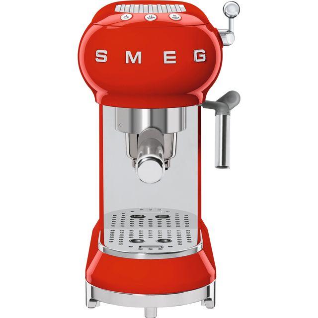 Smeg 50s Retro ECF01RDUK Espresso Coffee Machine - Red