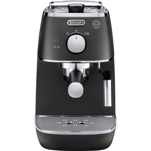 De'Longhi Distinta ECI341.B Espresso Coffee Machine - Black - ECI341.B_BK - 1
