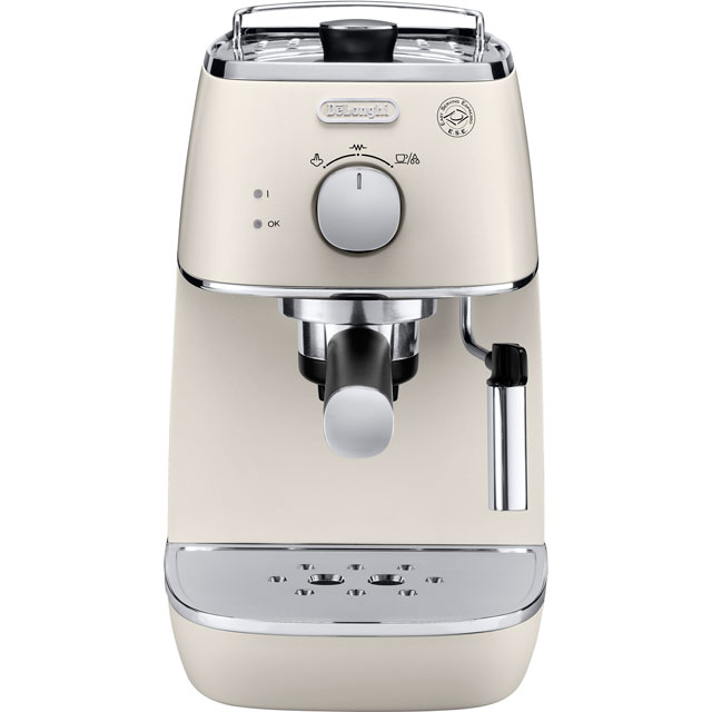 De'Longhi Distinta Espresso Coffee Machine - White
