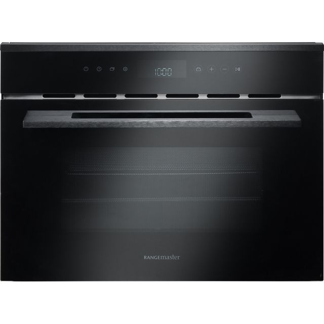 Rangemaster Eclipse ECL45MCBL/BL Built In Combination Microwave Oven - Black - ECL45MCBL/BL_BK - 1