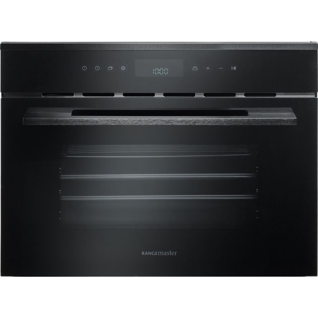 Rangemaster Eclipse ECL45SCBL/BL Built In Steam Oven - Black - ECL45SCBL/BL_BK - 1