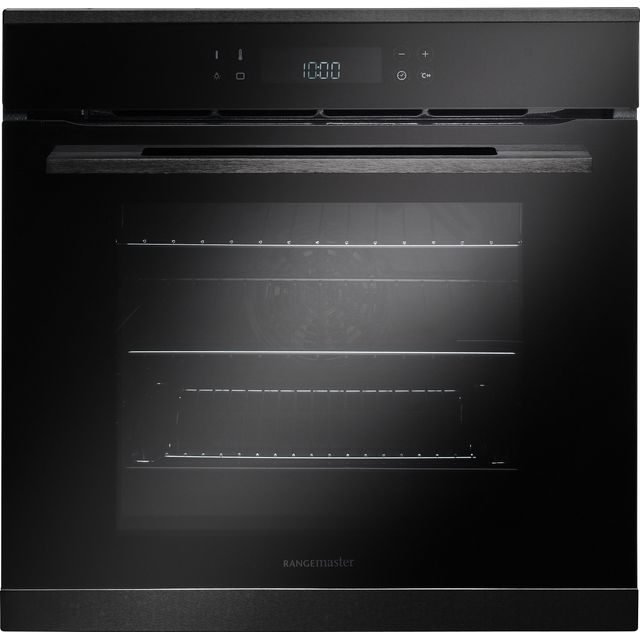 Rangemaster Eclipse ECL610BL/BL Built In Electric Single Oven - Black - ECL610BL/BL_BK - 1
