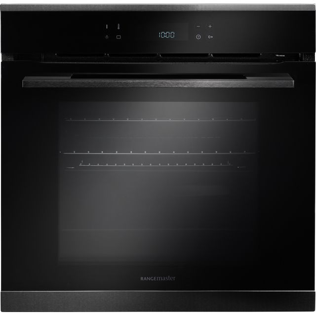 Rangemaster Eclipse ECL610PBL/BL Built In Electric Single Oven - Black - ECL610PBL/BL_BK - 1