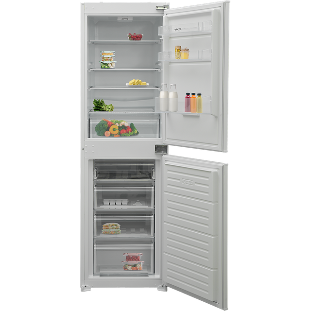 Electra ECS5050I Integrated 50/50 Fridge Freezer with Sliding Door Fixing Kit - White - A+ Rated