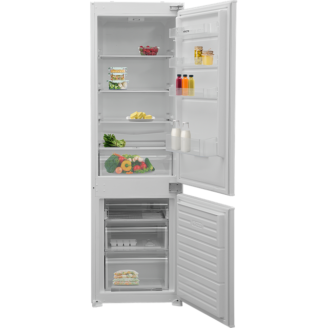 Electra ECS7030I Integrated 70/30 Fridge Freezer with Sliding Door Fixing Kit - White - A+ Rated