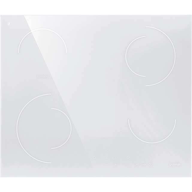 Gorenje Simplicity Collection ECT6SY2W 60cm Ceramic Hob - White