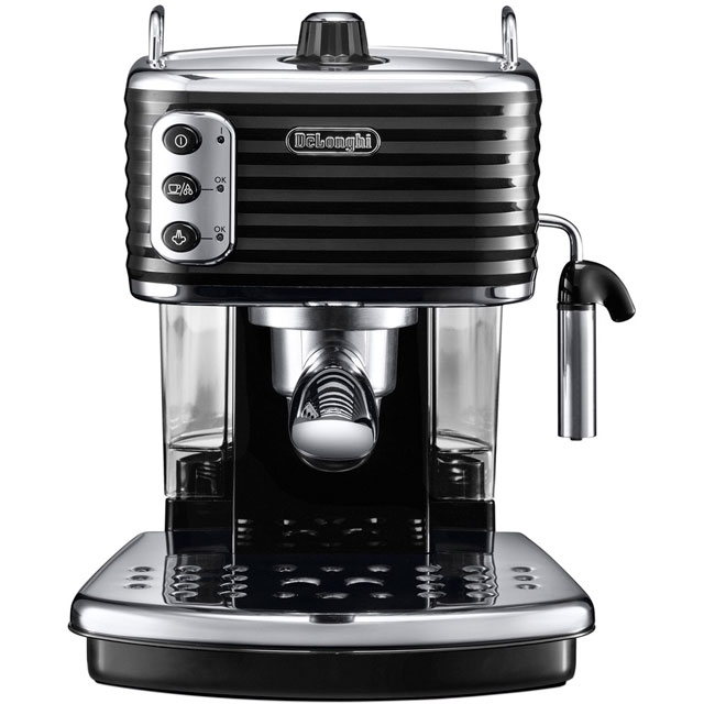 De'Longhi Scultura Espresso Coffee Machine - Black