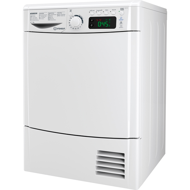Indesit Free Standing Condenser Tumble Dryer in White