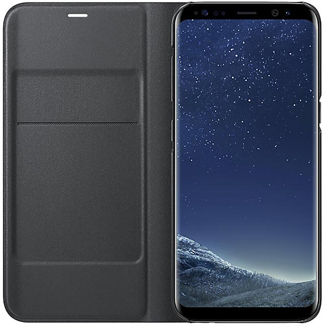 Samsung LED View Cover for Samsung Galaxy S8 - Black