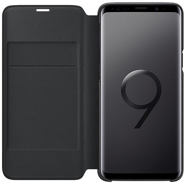 Samsung LED View Cover for Samsung Galaxy S9 - Black