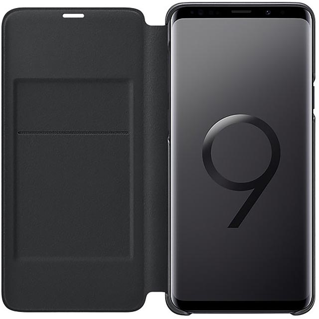 Samsung LED View Cover for Samsung Galaxy S9+ - Black