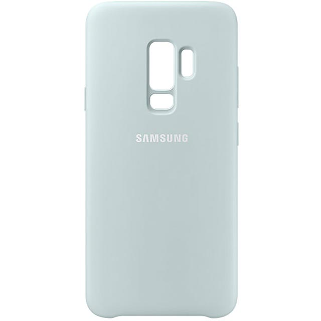 Samsung Silicone Cover for Samsung Galaxy S9+ - Blue - EF-PG965TLEGWW - 1