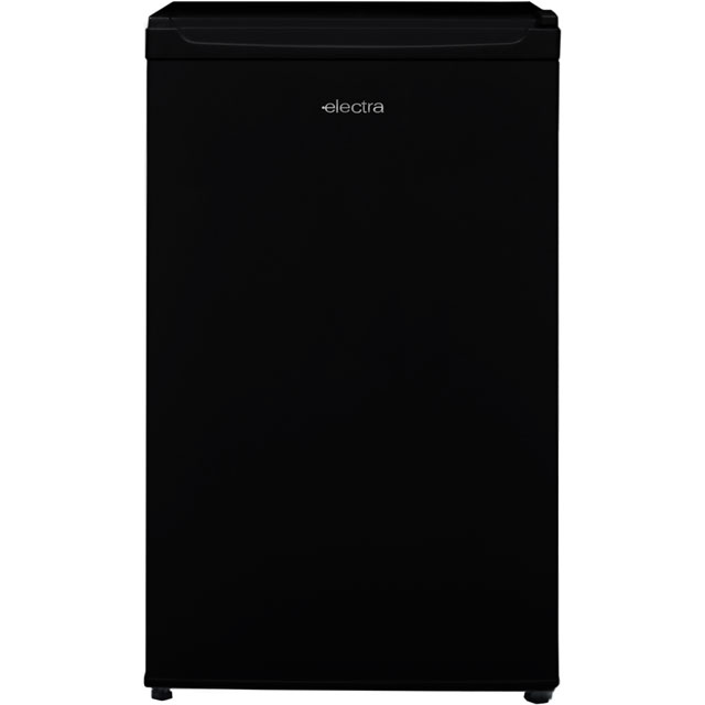 Electra Free Standing Larder Fridge in Black