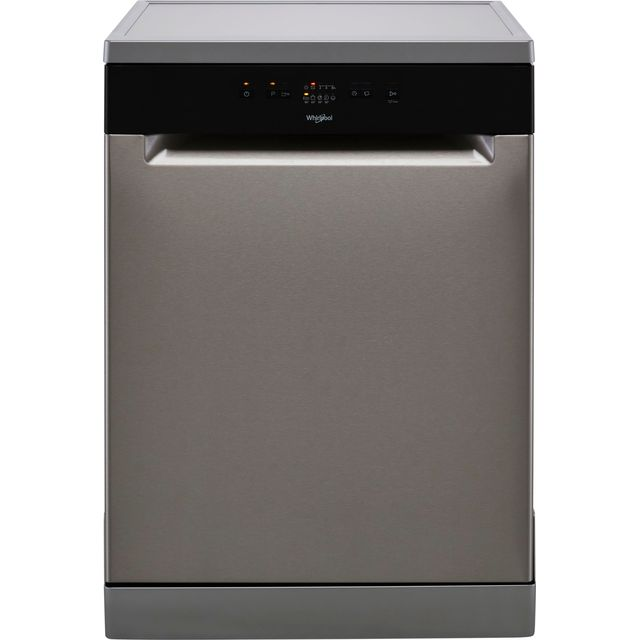Whirlpool WFE2B19XUKN Standard Dishwasher - Stainless Steel - F Rated
