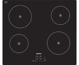 siemens eh611ba18e 59cm 4 burners induction hob touch control electronic ebay. Black Bedroom Furniture Sets. Home Design Ideas