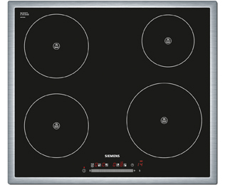 Siemens EH645FE17E 58cm Induction Hob - Black / Stainless Steel