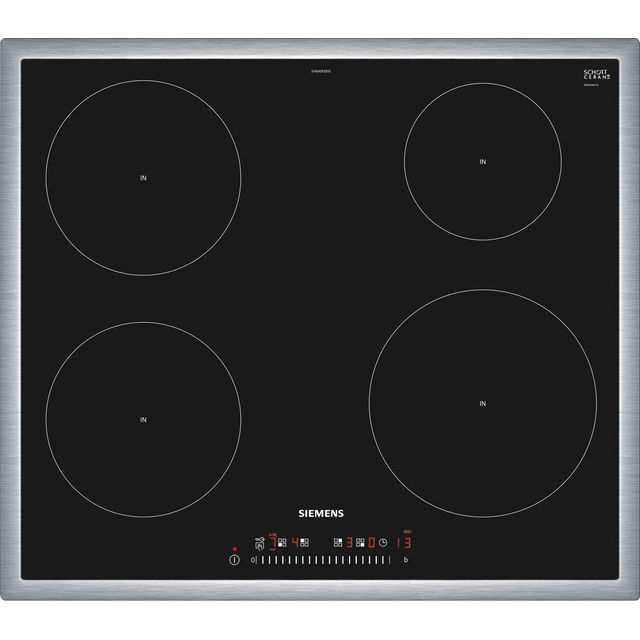 Siemens IQ-100 EH645FEB1E Built In Induction Hob - Black - EH645FEB1E_BK - 1