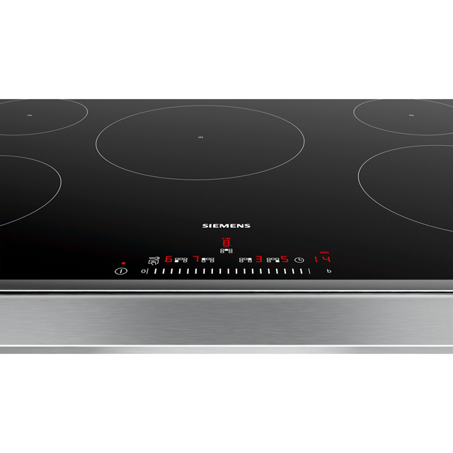 Siemens IQ-100 EH845FVB1E Built In Induction Hob - Black - EH845FVB1E_BK - 3
