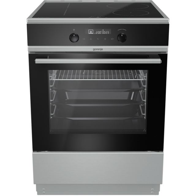 Gorenje EIT6565XPD Electric Cooker with Induction Hob - Stainless Steel - A+ Rated - EIT6565XPD_SS - 1