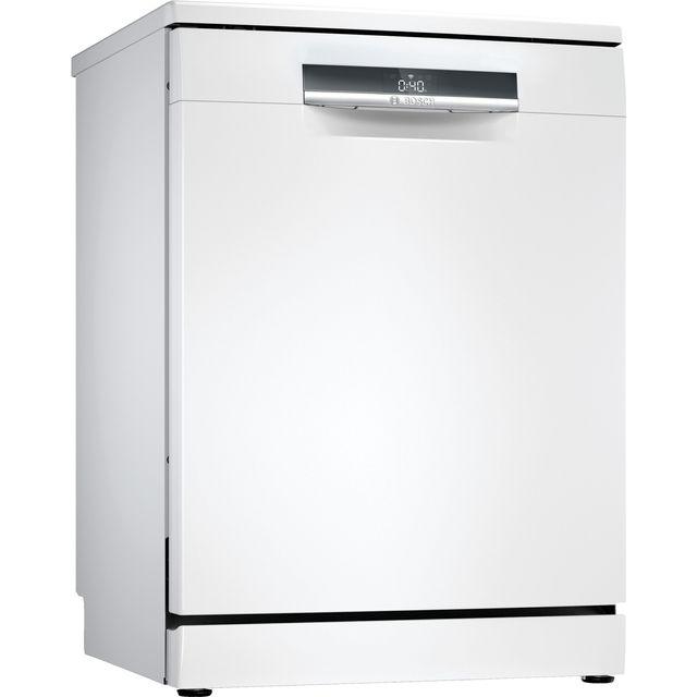 Bosch Serie 6 SMS6EDW02G Standard Dishwasher - White - C Rated