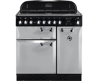 Rangemaster Elan ELAS90ECRP 90cm Electric Range Cooker with Ceramic Hob - Royal Pearl - A Rated