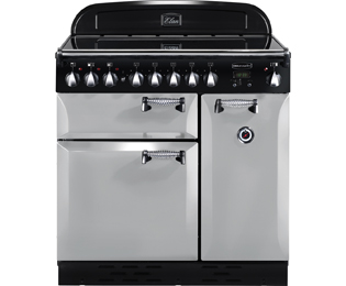 Rangemaster Elan ELAS90EIRP 90cm Electric Range Cooker with Induction Hob - Royal Pearl - A Rated