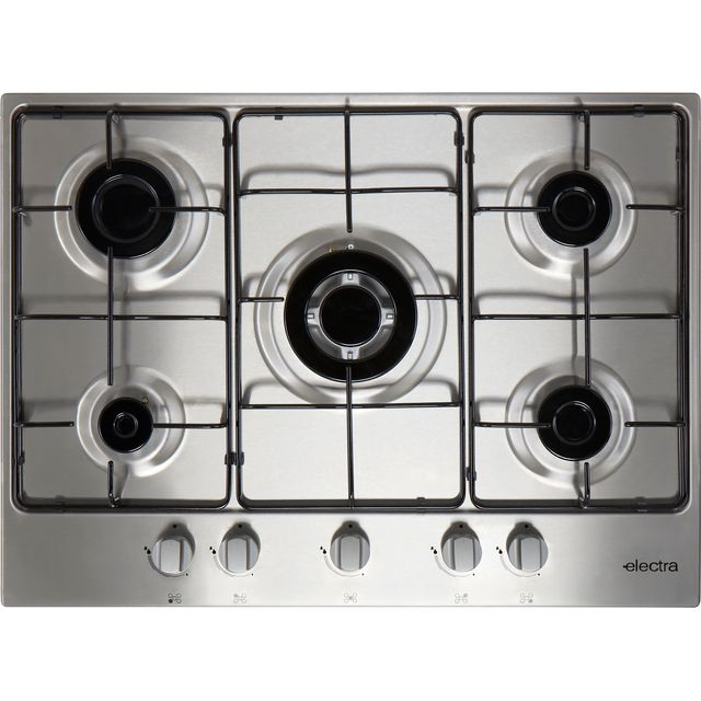 Image of Electra BIGH5SS 70cm Gas Hob - Stainless Steel