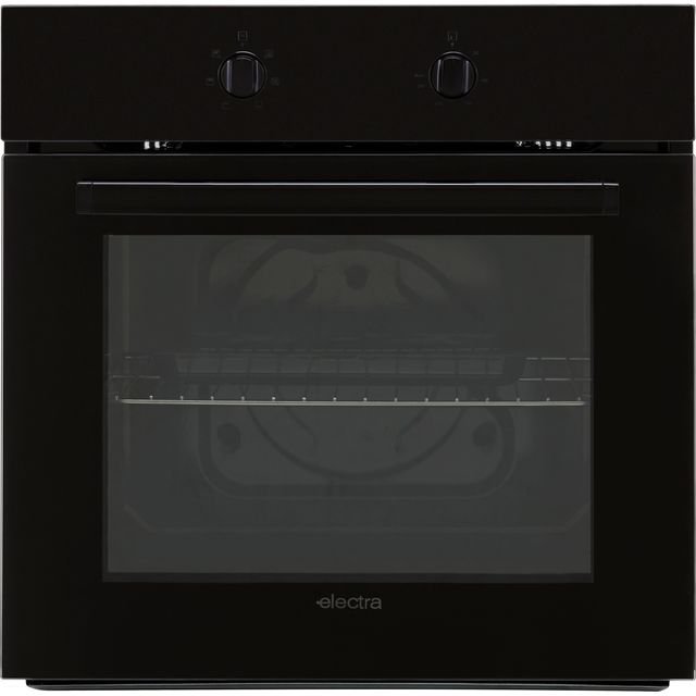 Electra BIS72B Built In Electric Single Oven - Black - BIS72B_BK - 1