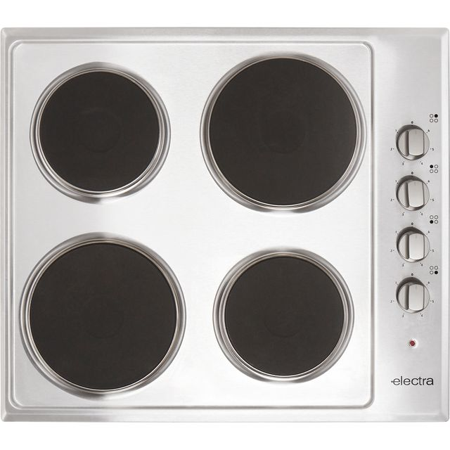 Image of Electra BISH4SS 58cm Solid Plate Hob - Stainless Steel