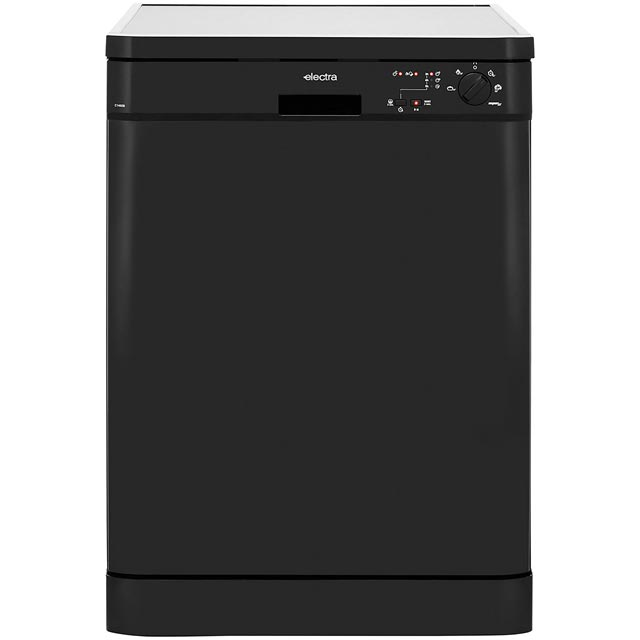 Electra C1760B Free Standing Dishwasher in Black