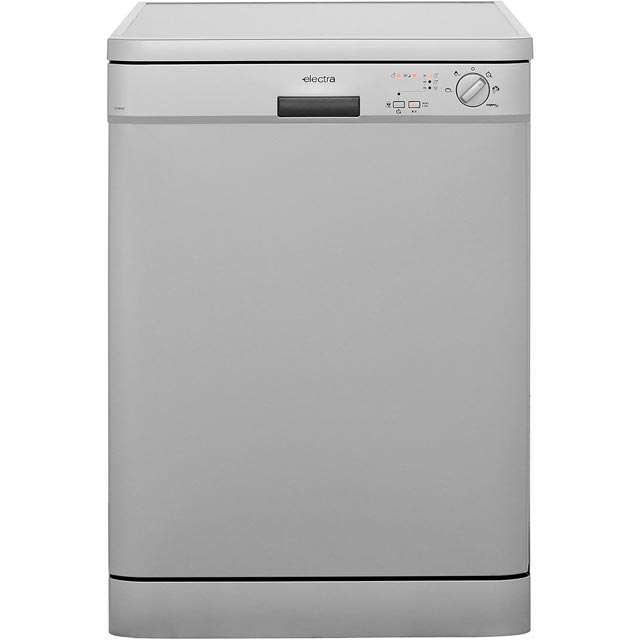 Electra C1760S Free Standing Dishwasher in Silver