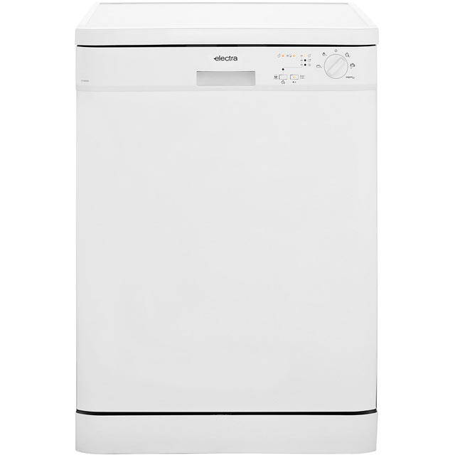 Electra C1760W Free Standing Dishwasher in White