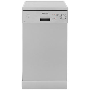 Electra C1745S Free Standing Slimline Dishwasher in Silver