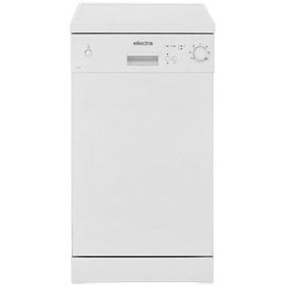 Electra C1745W Free Standing Slimline Dishwasher in White