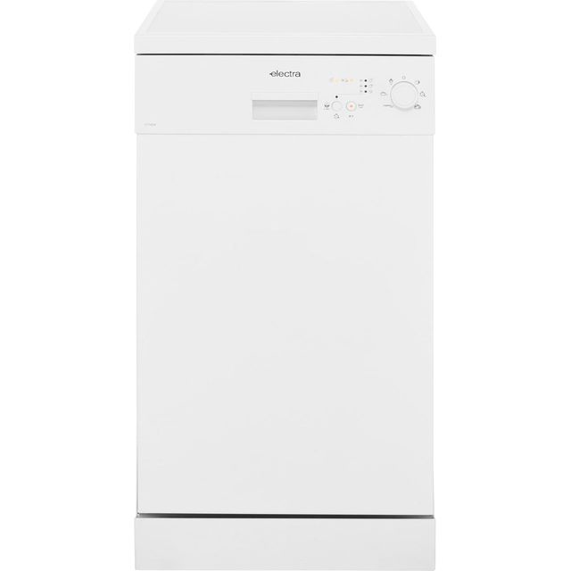 Electra Free Standing Slimline Dishwasher in White