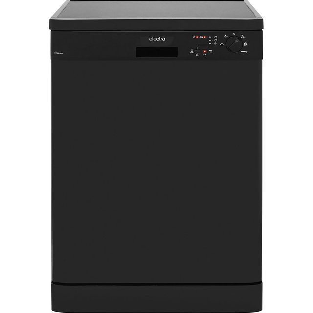 Electra C1760B Standard Dishwasher - Black - A++ Rated - C1760B_BK - 1
