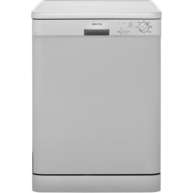 Electra C1760S Standard Dishwasher - Silver - A++ Rated - C1760S_SI - 1