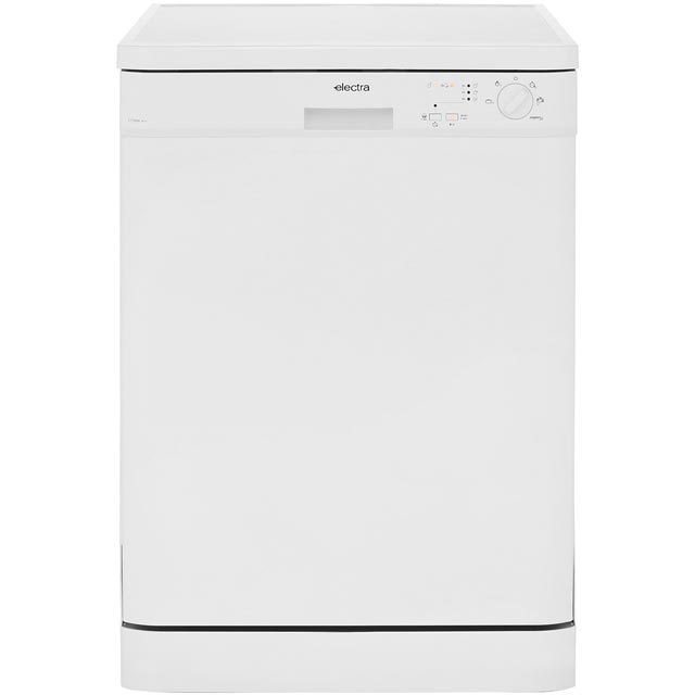 Electra Free Standing Dishwasher in White