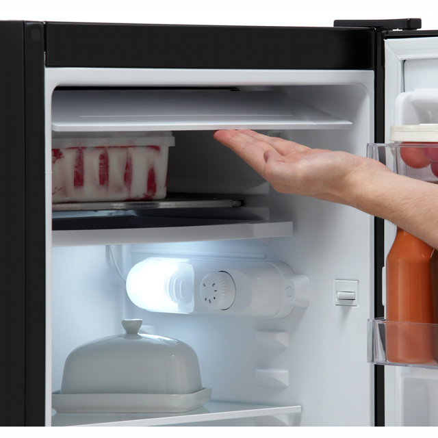 Electra EFUF48W Fridge with Ice Box - White - EFUF48W_WH - 4