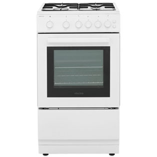 Electra SG50W 50cm Gas Cooker - White - A Rated