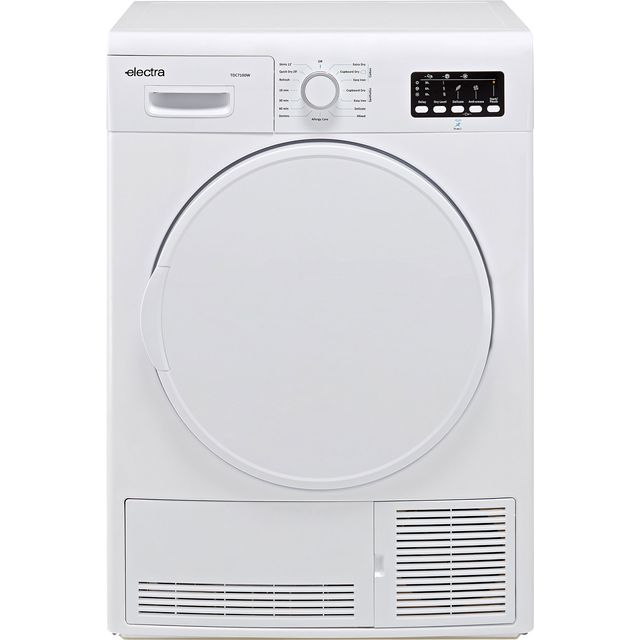 Electra TDC7100W 7Kg Condenser Tumble Dryer - White - B Rated - TDC7100W_WH - 1