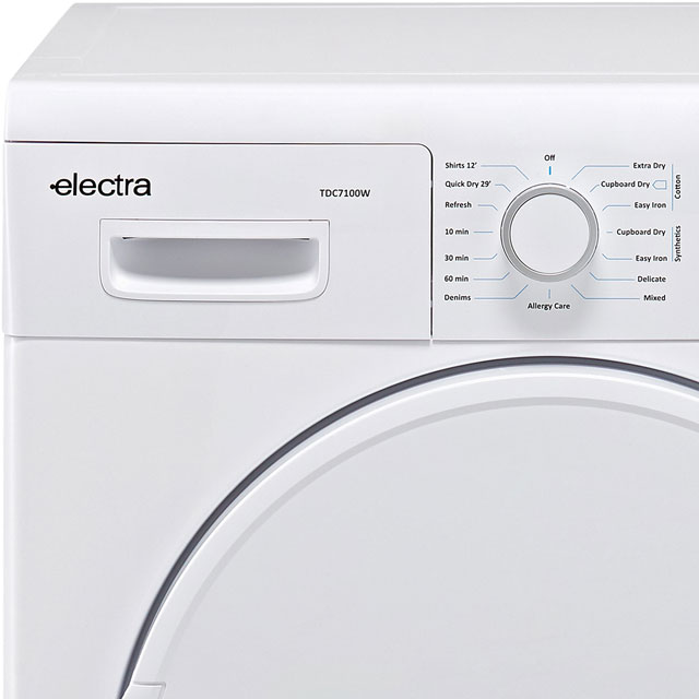 Electra TDC7100S Condenser Tumble Dryer - Silver - TDC7100S_SI - 2