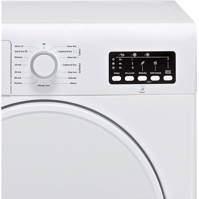 Electra TDC7100S Condenser Tumble Dryer - Silver - TDC7100S_SI - 3