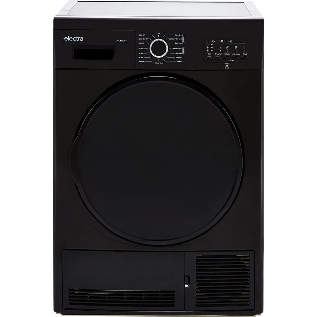 Electra TDC8112B 8Kg Condenser Tumble Dryer - Black - B Rated