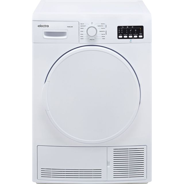 Electra TDC8112W 8Kg Condenser Tumble Dryer - White - B Rated - TDC8112W_WH - 1