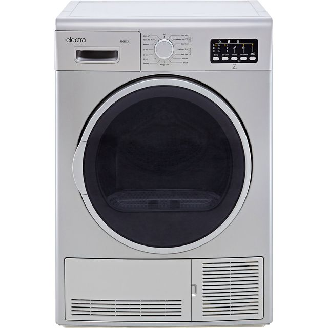 Electra TDC9112S 9Kg Condenser Tumble Dryer - Silver - B Rated - TDC9112S_SI - 1