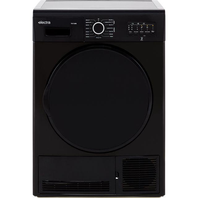 Electra TDC7100B 7Kg Condenser Tumble Dryer - Black - B Rated