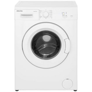 Electra W1044CF1W 6Kg Washing Machine with 1000 rpm - White - A++ Rated - W1044CF1W_WH - 1